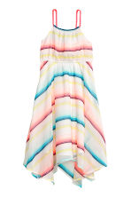 Patterned dress - White/Striped - Kids | H&M 1