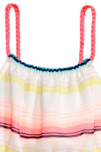 Patterned dress - White/Striped - Kids | H&M 2