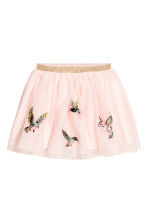 Tulle skirt - Light pink/Birds - Kids | H&M 2
