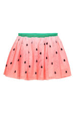 Tulle skirt - Pink/Watermelon - Kids | H&M CN 2