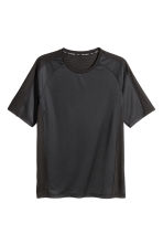 Ultra-light running top - Black - Men | H&M 3