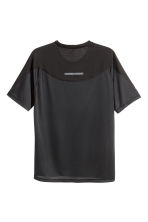 Ultra-light running top - Black - Men | H&M 4