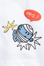 2-pack T-shirts - Blue/Mr. Men and Little Miss - Kids | H&M CN 2