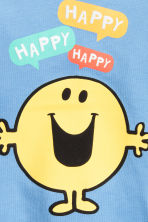 2-pack T-shirts - Blue/Mr. Men and Little Miss - Kids | H&M CN 3
