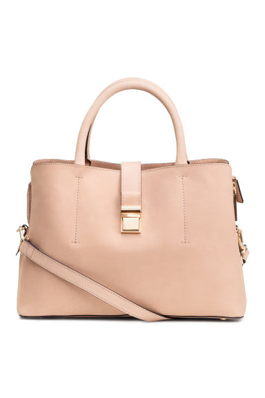 Leather handbag - Powder - Ladies | H&M CN 1