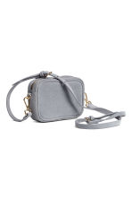 Small suede shoulder bag - Grey-blue - Ladies | H&M CN 2