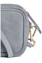 Small suede shoulder bag - Grey-blue - Ladies | H&M 3