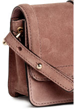 Suede shoulder bag - Vintage pink - Ladies | H&M 3
