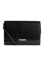 Clutch bag with shoulder strap - Black - Ladies | H&M CN 1