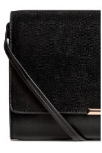 Clutch bag with shoulder strap - Black -  | H&M CN 3