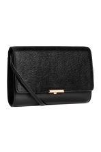 Clutch bag with shoulder strap - Black -  | H&M CN 2