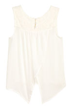 Open-back top - White - Kids | H&M 3
