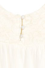 Open-back top - White - Kids | H&M 4