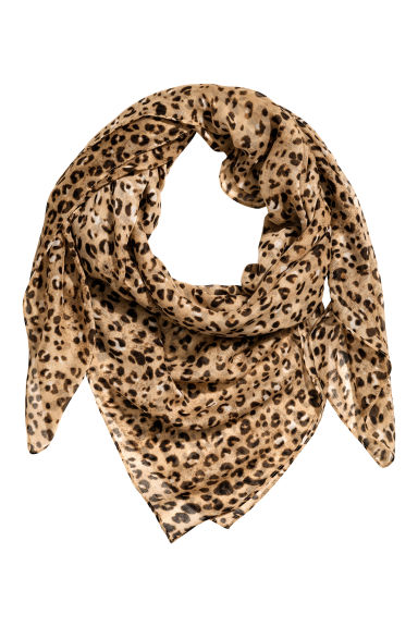 Foulard fantasia - Leopardato - DONNA | H&M IT 1