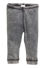 Jersey leggings - Grey washed out - Kids | H&M CN 1