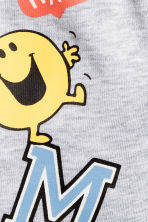 Jersey shorts - Grey/Mr. Men and Little Miss -  | H&M 2