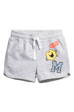 Jersey shorts - Grey/Mr. Men and Little Miss -  | H&M 1