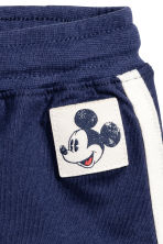 Jersey shorts - Dark blue/Mickey Mouse -  | H&M CN 2