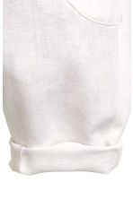Pull-on trousers - White -  | H&M CA 3