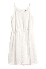 Lace dress - White -  | H&M 2
