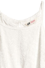 Lace dress - White -  | H&M 5