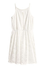 Lace dress - White -  | H&M 3