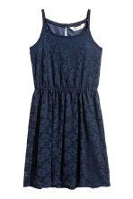 Lace dress - Dark blue - Kids | H&M 2