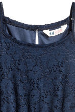 Lace dress - Dark blue - Kids | H&M 3