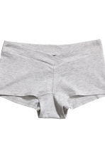 MAMA 2-pack shorts - Grey/White - Ladies | H&M IE 3