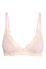 Underwired modal jersey bra - Light pink - Ladies | H&M 2