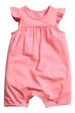 2-pack romper suits - Pink/Spotted - Kids | H&M 2