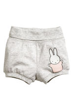 Set in jersey in 3 pezzi - Rosa cipria/Miffy -  | H&M IT 2