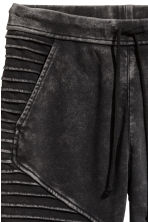 Biker joggers - Dark grey - Ladies | H&M CN 3