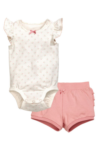 Jersey set - Dusky pink - Kids | H&M GB