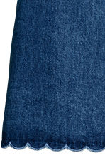 Short twill skirt - Denim blue - Ladies | H&M CN 3