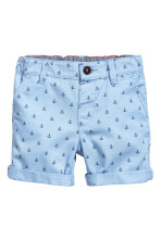 Light blue/Anchor
