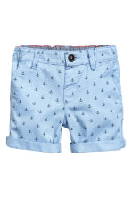 卡其短褲 - Light blue/Anchor -  | H&M 1