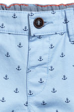 Chino shorts - Light blue/Anchor -  | H&M 2