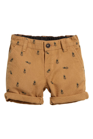 Chino shorts - Camel/Pineapple -  | H&M