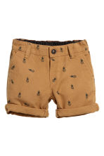 Chino shorts - Camel/Pineapple -  | H&M 1