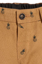 Chino shorts - Camel/Pineapple -  | H&M CA 2