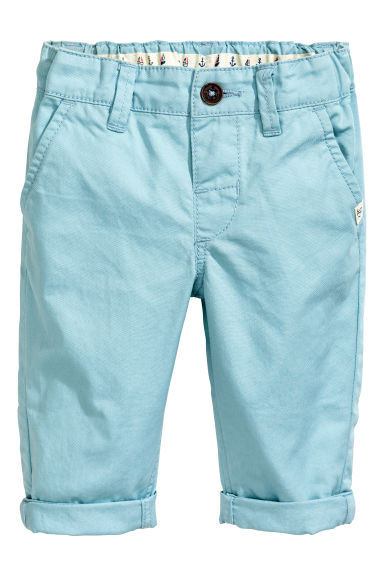 Chinos - Light blue -  | H&M CA 1