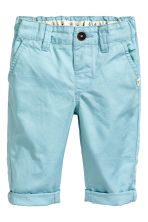 Chinos - Light blue -  | H&M 1
