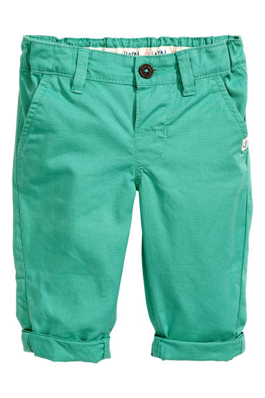 Chinos - Verde -  | H&M IT 1