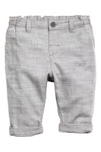 Shirt and trousers - Light blue/Grey - Kids | H&M 2