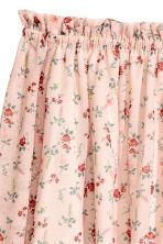 Off-the-shoulder blouse - Light pink/Floral - Ladies | H&M GB 3