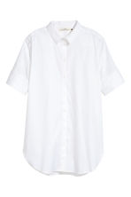 Camicia lunga - Bianco - DONNA | H&M IT 2