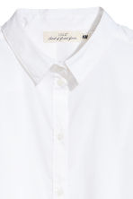 Camicia lunga - Bianco - DONNA | H&M IT 3