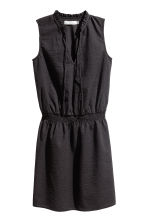 Seersucker dress - Black - Ladies | H&M 2