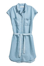 Lyocell dress - Light denim blue - Ladies | H&M CN 2